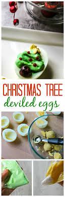 tree deviled eggs a festive spin on a classic