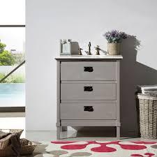 abel 30 inch gray bathroom vanity marble top