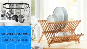 28 cool ideas kitchen storage and organization dish rack