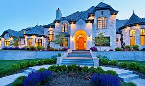 Blue House With Red Door White Nuance Beautiful Homes And Houses With Architectural Door