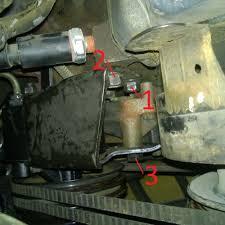 p30 454 power steering pump