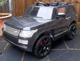 jeep range rover black kids range rover vogue svr autobiography sport style 12v electric