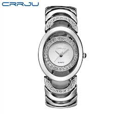 gold ladies bracelet watches images Crrju luxury women watch famous brands gold fashion design jpg