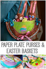 Paper Plate Easter Decorations by Adorable Paper Plate Purses U0026 Easter Baskets Your Kids Can Design