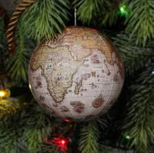 ornament replogle world globe