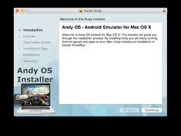 android emulator for mac run android apps on mac the easy way andy the android emulator