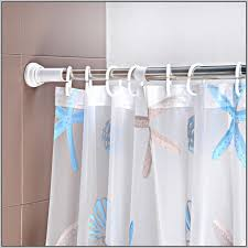 Curtain Suspension Rod Window Treatment With Tension Rod Curtain Homesfeed