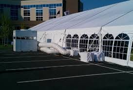 heated tent rental heating and cooling tent options in indiana michigan and more