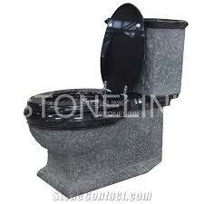 natural stone bathroom accessories black granite toilets water