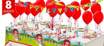 Barney Party Decorations Farmhouse Fun Birthday Party Supplies Party City