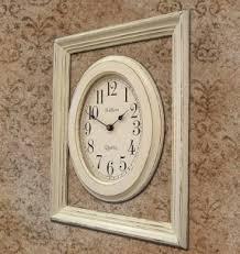 shabby chic wall clocks open travel