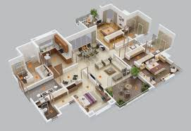 in apartment house plans 3 bhk home plan beautiful 50 three 3 bedroom apartment house plans