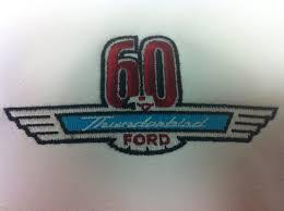 60th anniversary ford thunderbird t shirt