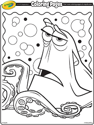 finding dory coloring pages getcoloringpages com