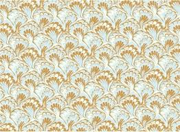 italian wrapping paper 1931 decorative papers marbled paper blue gold