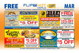 flip u0027nhot deals coupon book march 2017 daytona beach area by