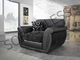 Black Corner Sofas Shannon Faux Leather U0026 Fabric Corner Sofa 2 Sizes U2013 Sofas4less