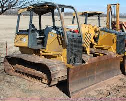 2007 john deere 650j lgp dozer item l6789 sold march 10