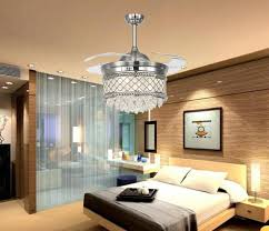 Ceiling Fan With Pendant Light 2018 2015 New Chandelisers Led Lighting Fans Invisible