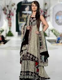 bridal dresses sharara and gharara designs
