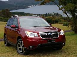 subaru forester red 2018 subaru forester gains new audio features and value package youth