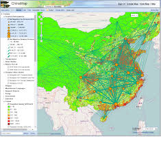 China Population Density Map by Web Mapping Basics Geospatial And Statistical Data Resources