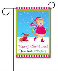 personalized christmas flags flagology