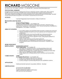 Dentist Resume Sample 6 Dental Resume Format Mail Clerked