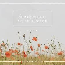god u0027s word for life u0027s seasons