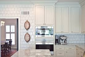 White Glazed Kitchen Backsplash Tiles Design Ideas - Square tile backsplash