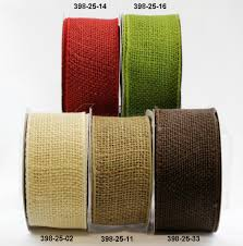 wholesale burlap ribbon 2 5 inch burlap wired ribbon may arts wholesale ribbon