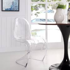 acrylic chairs overstock clear acrylic dining dining chair free