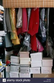 messy closet messy closet stock photo royalty free image 5419743 alamy