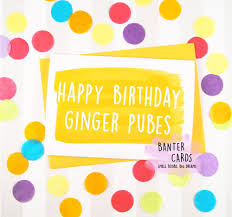 greeting cards ginger