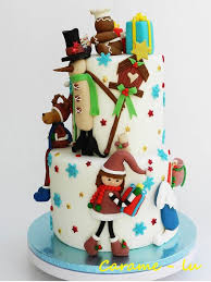 888 best christmas cakes images on pinterest christmas cakes