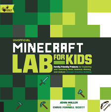 new book unofficial minecraft lab for kids