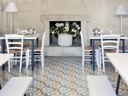 Tile In Dining Room by Italian Tiles With Graphic Design Of Majolica And Carpet Frame