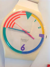 vintage swatch watch wall clock paint swatch wall clock swatch