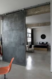 Steel Sliding Barn Doors by Stunning Industrial London Loft Trends Magazine Industrial And