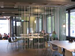 curtain room dividers vu universiteit divider touwgordijn oth architects gemaakt