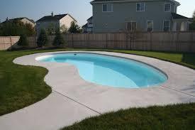 Inground pools painted white Pool Info Painted Swimming Pools