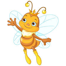 bee clipart honey bee on flower clipart collection
