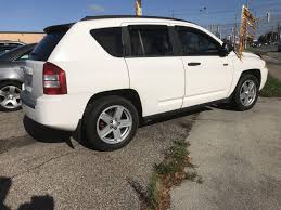 white jeep compass black rims used 2008 jeep compass sport north edition 4x4 for sale in st