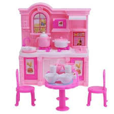 american doll dining table baby girls gift mini dolls house toy darling doll furniture for