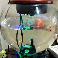 membuat filter aquarium kecil jual aquarium kecil sweet 02 mika di lapak aquafish aquafish