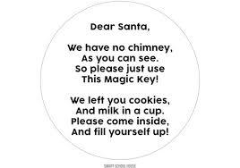 santa key magic key poem
