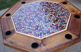 beer cap table top bottle cap table crafty caps