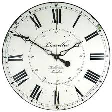 extra large kitchen wall clock