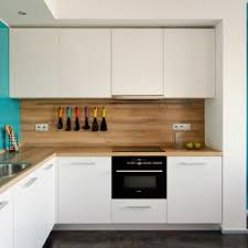 Wood Backsplash Kitchen Apartments Beautiful Wood Top Kitchen Counter And White Kitchen
