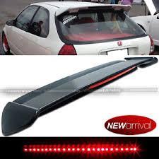 2008 honda civic third brake light for 96 00 civic hatchback ek type r style abs roof spoiler led 3rd